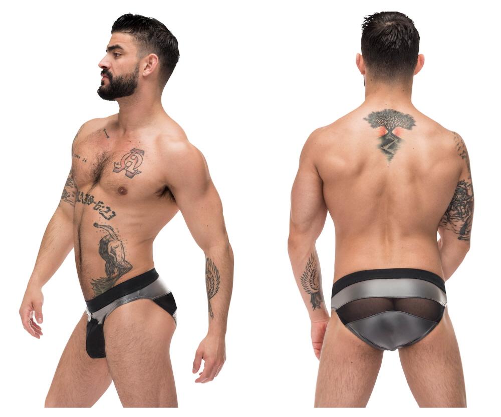 db3c17424c8  Male Power  Iron Clad Bikini Gray (488-245)